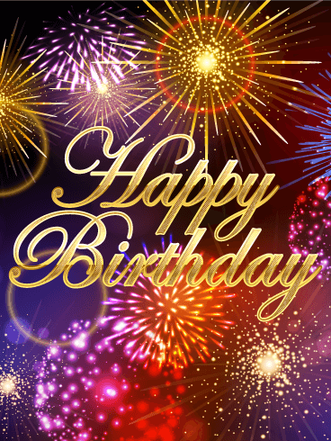 Its A Big Celebration Happy Birthday Card Birthday Greeting